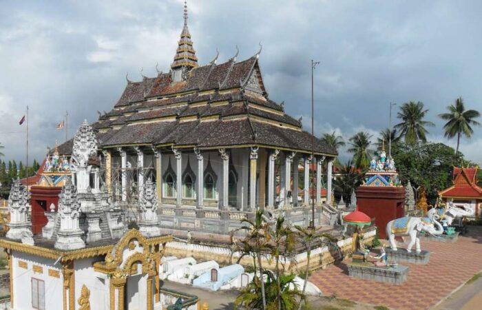 Pagodas, Battambang, Cambodia